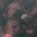 Starless Crescent Nebula with Soap Bubble,                                ks_observer
