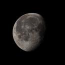 Waning gibbous moon (~81%),                                Frederick Steiling