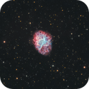 The Crab Nebula M1,                                Chuck's Astrophotography