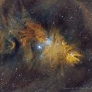 NGC 2264 - Cone Nebula/ The Christmas Tree,                                Gaw