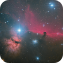Horsehead and Flame Nebula with ASI2600,                                pmneo