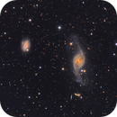NGC 3718, interacting galaxy in Ursa Major,                                flyingairedale