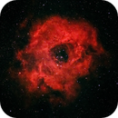 Rosette nebula in HaRGB (short integration),                                Andrew Gutierrez