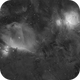 Flame, Horse Head and Orion nebulae in Ha - 4 panel mosaic,                                alexbb