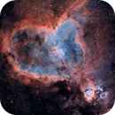 """The Heart and the Fish"", IC1805 and IC1795,                                Brent Cooley"