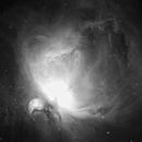 New Version of M42, Orion Nebula, in Hydrogen Alpha,                                JasonC