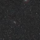 M103, Open Cluster short exposure,                                Vlaams59