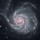 M101 - pinwheel galaxy,                                keving