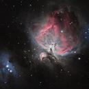 Orion Nebula,                                Muhammad Ali