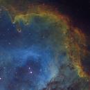 Seelennebel in Hubble Palette,                                Ulrich Strobel