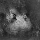M17 omega nebula Ha,                                lukfer