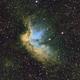 NGC7380 Hubble Palette,                                David Gwyn