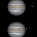 Jupiter with Europa and Io - 2021/08/21,                                Olivier Ravayrol