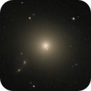 Relativistic jets in M87,                                Pleiades Astrophotography Team