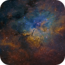 NGC 6823 in SHO,                                Christoph Lichtblau