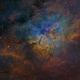 NGC 6823 in SHO,                                Christoph Lichtblau