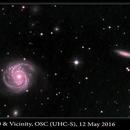 M100 & Vicinity, OSC (UHC-S), 12 May 2016,                                David Dearden