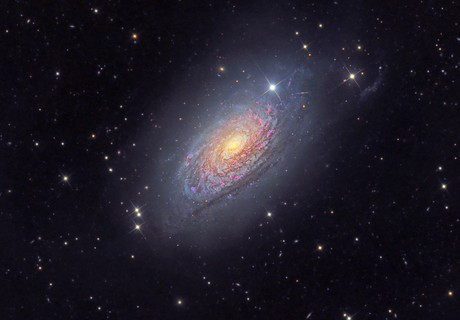 M63 Sunflower Galaxy,                                Arnaud Peel