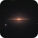 m104  shooting with the 2-meter telescope of the Faulkes Telescope South,                                Gianluca Belgrado