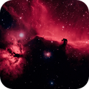 Horsehead and Flame Nebulas in Ha-Oiii with Hypercam 26c,                                AstroBillUK
