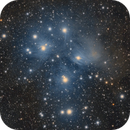 M45 - The Pleiades,                                Frank Breslawski