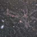 M81 M82 and Integrated Flux Nebula,                                MakikoSugimura