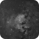 Sharpless2 171 and NGC 7822 in H-alpha,                                jerryyyyy