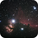 Horse Head and Flame Nebula in Orion,                                Jim Medley