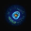 NGC 2392 - Eskimo Nebula,                                Steven Marx