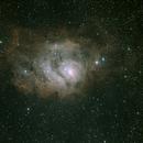 M8, nébuleuse de la Lagune,                                6rilAstro