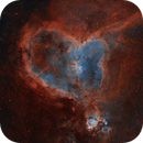 SH2-190 | The Heart Nebula,                                Kevin Morefield