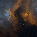 "IC1871 ""Whirling Dervish"", inside the Soul Nebula (Bicolor),                                John Renaud"