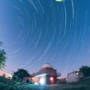 Rotazione polare Osservatorio Giancarlo Braconi: Star trails and fireflies,                                Andrea Storani