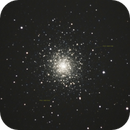 M92 globular cluster, unguided on CG-5. Partly cloudy sky.,                                Juan Pablo (Obser...