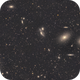 Markarian's Chain in the Virgo Cluster,                                Anders Gengård