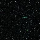 NGC 891 an edge-on unbarred spiral galaxy in Andromeda,                                RonAdams