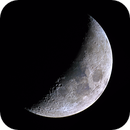 The 6 Day Old Waxing Crescent Moon,                                Dyno05