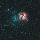 M20 Trifid Nebula,                                khulzad