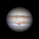 Jupiter with GRS in Transit,                                Michael Wong