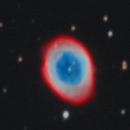 "M57 - First Light from the ""new"" QHY8 OSC Camera,                                Carlo Caligiuri"