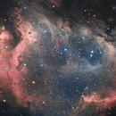 Soul Nebula in Ha(HaR)GB, 21 hours,                                Nightsky_NL