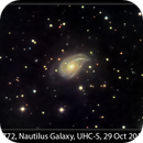 NGC 772, Nautilus Galaxy, UHC-S, 29 Oct 2014,                                David Dearden