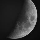 Moon - near 1st Quarter,                                Ron