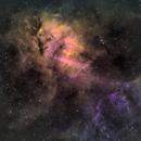 Sh2-132 - Lion Nebula - SHO,                                Brice