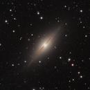 NGC7814 - Spiral galaxy in Pegasus,                                Jan Sjoerd de Vries