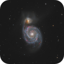 M51 - Whirlpool Galaxy (2020),                                Victor Van Puyenbroeck