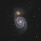 M51 - Whirlpool Galaxy (2020),                                Victor Van Puyenb...