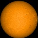 Sonne am 24.04.2015,                                Dominik Zgrzendek