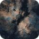 Butterfly Nebula (IC1318) in Narrow Band,                                Andrew Barton