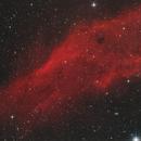 Der Californianebel NGC 1499 im Sternbild Perseus,                                astrobrandy